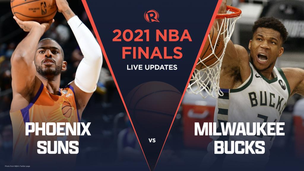 ข่าบาสเก็ตบอล NBA FINAL 2021 ระหว่าง SUN vs BUCK