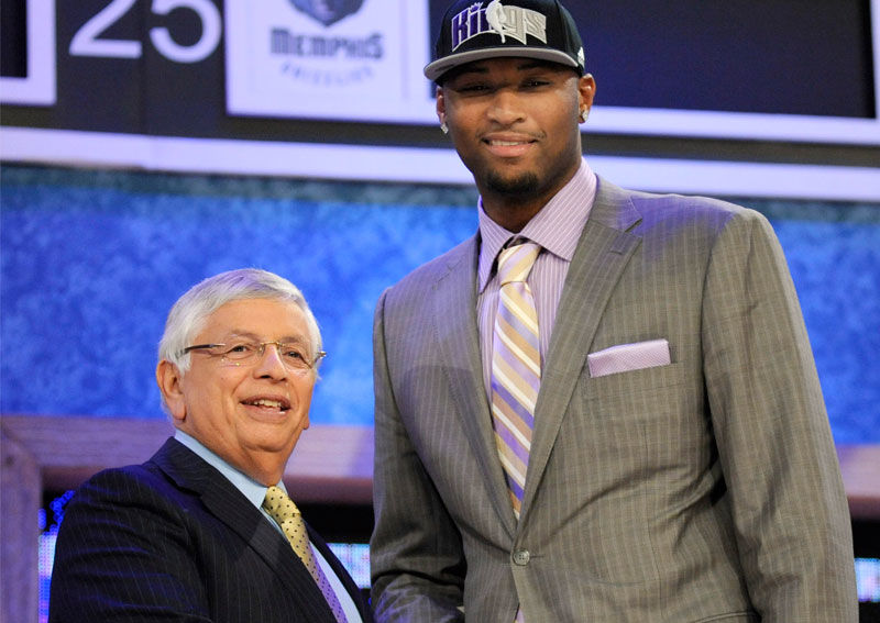 เริ่มเข้าสู่ NBA ของ เดอมาร์คัส เคาซินส์ (DeMarcus Cousins)